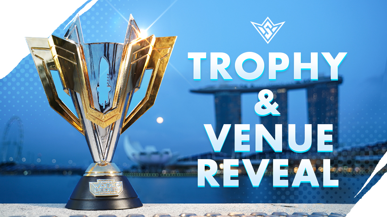 FFWS Trophy Reveal   FFWS 2021 Singapore - Free Fire