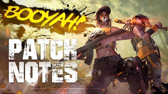 Patch Note: BOOYAH Day