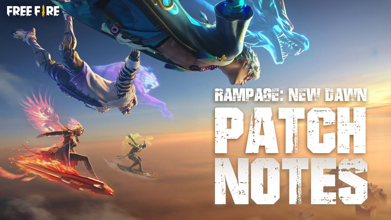PATCH NOTE: RAMPAGE