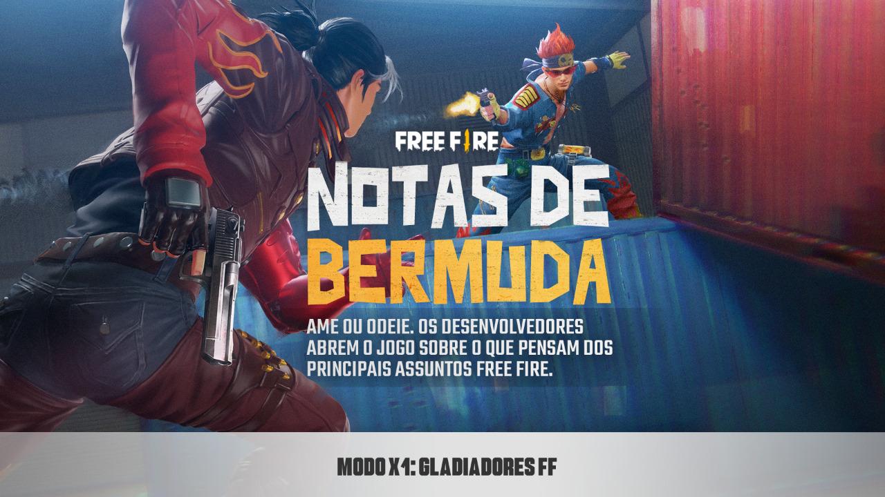 Notas de Bermuda - Gladiadores FF
