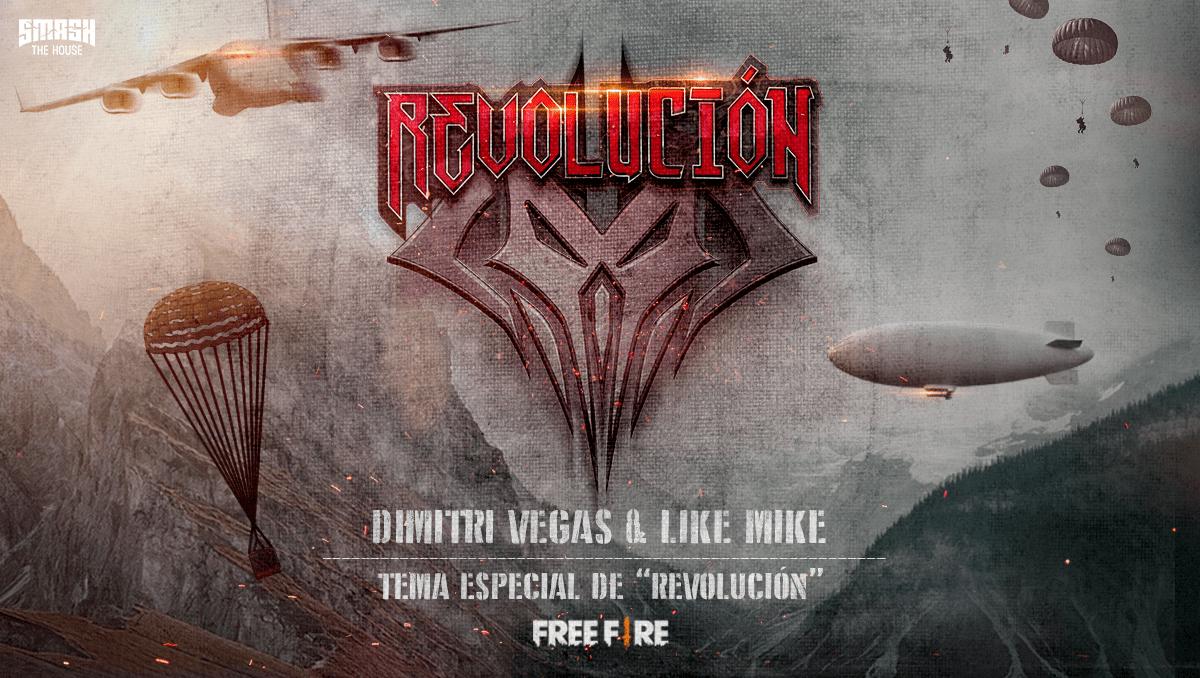 La campaña Revolución de Garena Free Fire está de vuelta para su 3ª edición, encabezada por la canción del dúo de DJs Dimitri Vegas y Like Mike